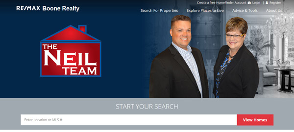The Neil Team Website